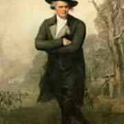 The Skater Portriat Of William Grant Art Print