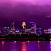 The Sky Was So Purple...  Art Print