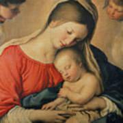 The Sleeping Christ Child Art Print by Il Sassoferrato
