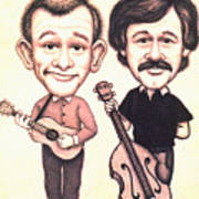 The Smothers Brothers Art Print