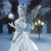 The Snow Fairy Art Print by Melissa Krauss