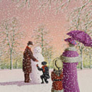 The Snowman Art Print