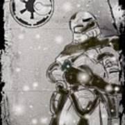 The Snowtrooper Art Print
