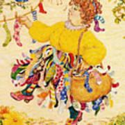 The Sock Lady Art Print