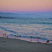 The Soft Side Of Sunset Art Print