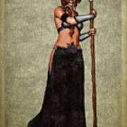 The Sorceress Mage Art Print
