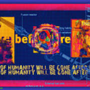 The Soul Of Humanity Will Be Gone After The Dark Art Print