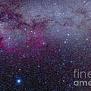 The Southern Milky Way Art Print