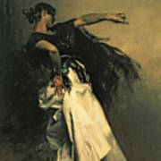 The Spanish Dancer Art Print