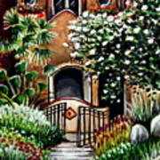 The Spanish Gardens Art Print