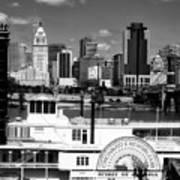 The Spirit Of America And Cincinnati  Art Print