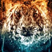 The Spirit Tiger Art Print