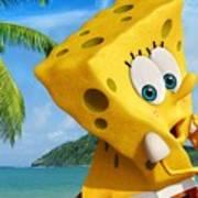 The Spongebob Movie Sponge Out Of Water Art Print