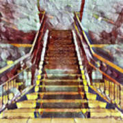 The Stair Art Print