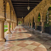 The Stanford Entrance Art Print