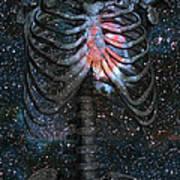 The Starbound Heart I Art Print