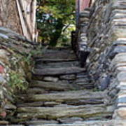 The Stone Stairs Art Print