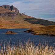 The Storr Art Print