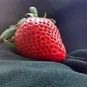 The Strawberry Portrait Art Print
