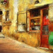 The Street  -- Original Painting Art Print
