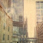The Streets Of Minneapolis Art Print