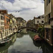 The Streets Of Venice Art Print