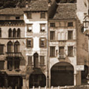 The Streets Of Vittorio Veneto Art Print
