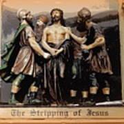The Stripping Of Jesus Art Print