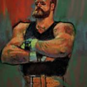 The Strongman Art Print