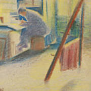 The Studio Art Print