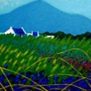 The Sugar Loaf County Wicklow Ireland Art Print