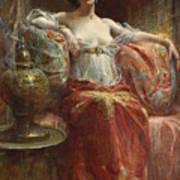 The Sultan's Favourite Art Print