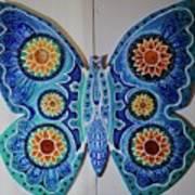 The Summer Butterfly Art Print