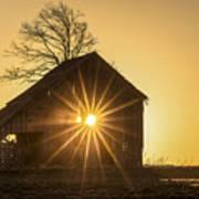 The Sun Rises Art Print