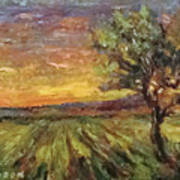 The Sun Rising / El Sol Naciente Art Print