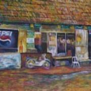The Sundry Store At Fraiser's Hill Art Print