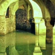The Sunken Crypt Of San Zaccaria Art Print