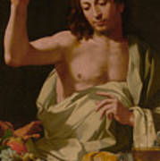 The Supper At Emmaus-detail Art Print
