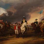 The Surrender Of Lord Cornwallis At Yorktown Art Print