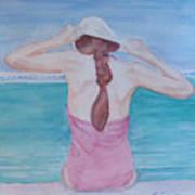The Swim Cap Art Print