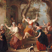 The Swing, 1848 Art Print