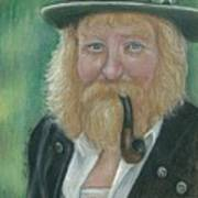The Swiss Farmer Art Print by Linda Nielsen