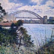 The Sydney Opera House And Harbour Bridge. Australia 2007  Art Print