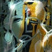 The Synaptic Gap Art Print