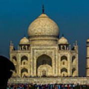 The Taj Art Print