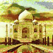 The Taj Mahal Art Print