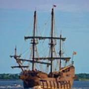 The Tall Ship El Galeon Art Print