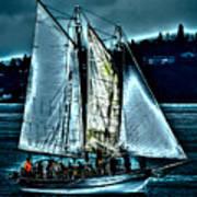 The Tall Ship Lavengro Art Print