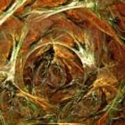 The Tangled Webs We Weave Art Print
