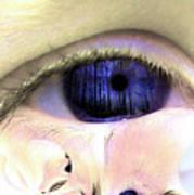 The Tear Art Print